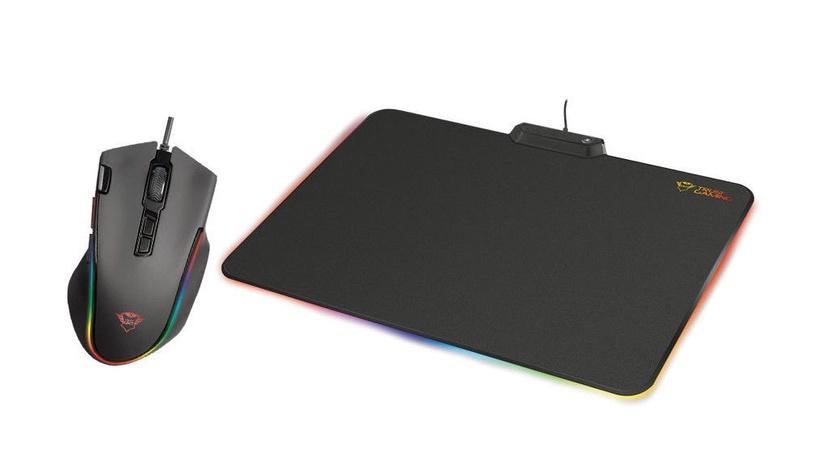 Trust Gaming Bundle: Laban GXT188 RGB Mouse + GXT760 Glide RGB MousePad