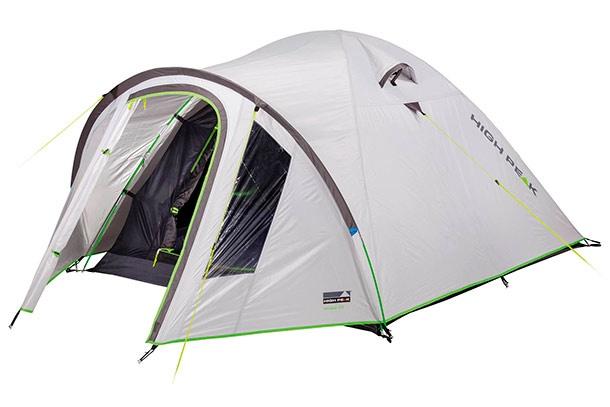 Trīsvietīga telts High Peak Nevada 3 10203, pelēka