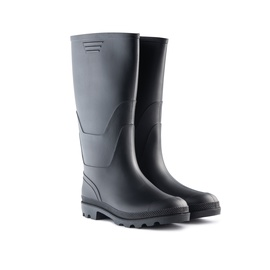 SN Men Rubber Boots 900P Long 46 Black