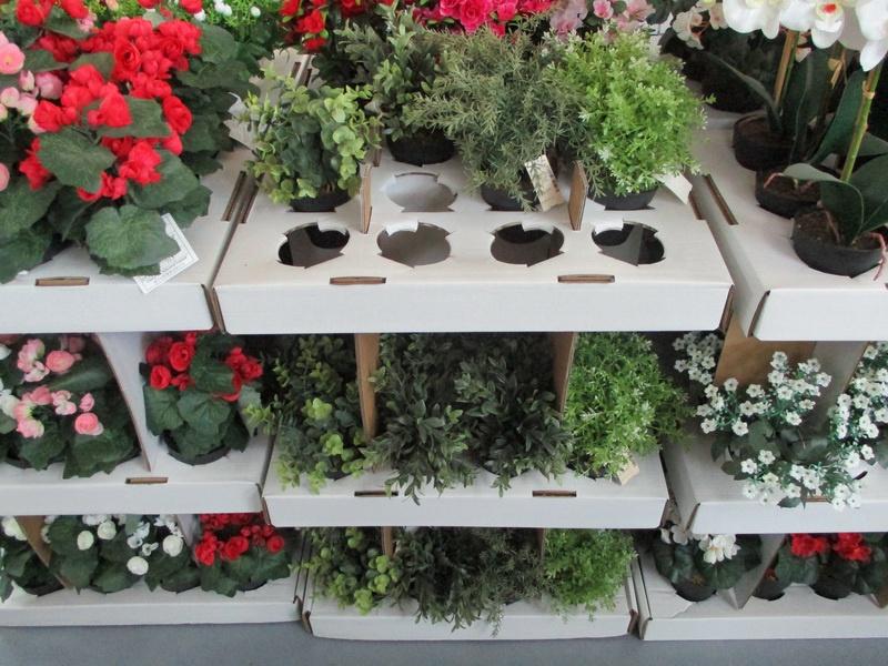Искусственный цветок 4Living, черный/зеленый