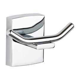 Priklijuojamas vonios kambario dvigubas drabužių kabliukas Klaam Tesa 40263