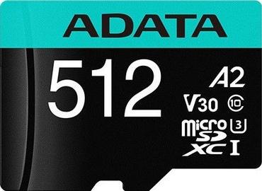 ADATA Premier Pro microSDXC 512GB UHS-I Class 10 A2