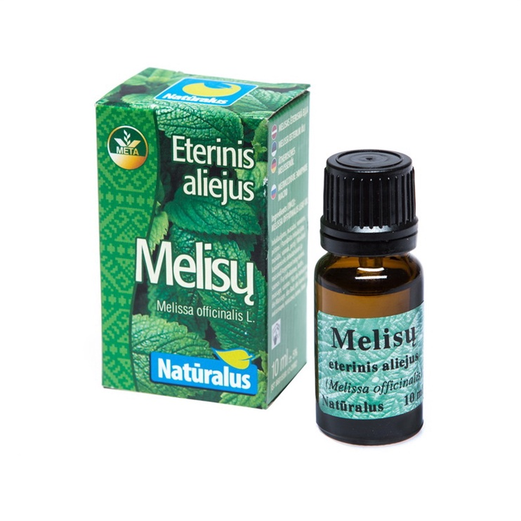 ECO META Essential Melissa Oil 10ml