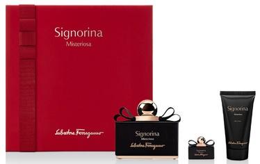 Rinkinys moterims Salvatore Ferragamo Signorina Misteriosa 3pcs Set 155ml EDP