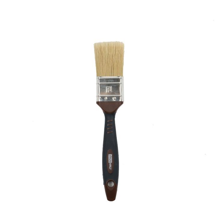 HausHalt Flat Brush RJ3348 Mixed Black/Brown 38mm