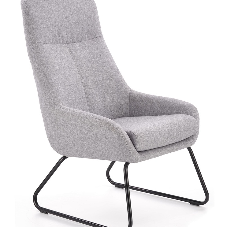 Fotelis Halmar Bolero Light Grey, 63x47x105 cm