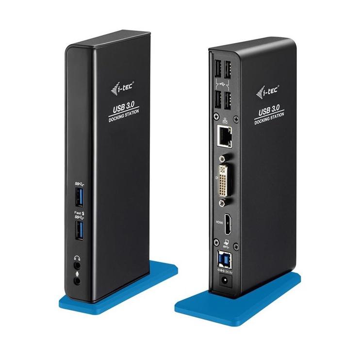 STOTELĖ DOKO I-TEC USB 3.0 DUAL