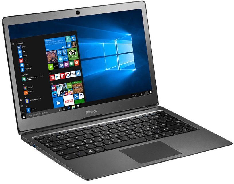 Nešiojamas kompiuteris Prestigio SmartBook PSB133S SSD 120GB Metal Dark Grey