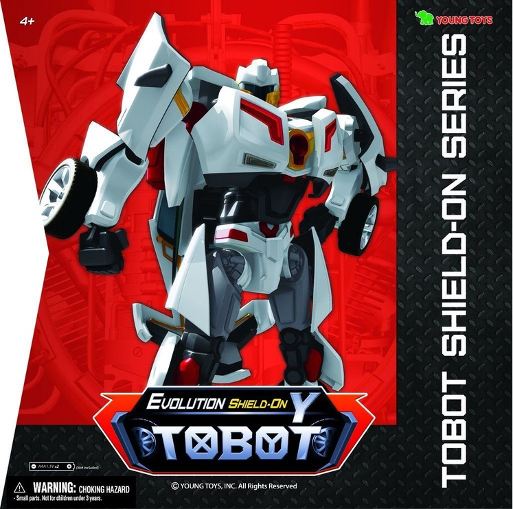 Young Toys Tobot Evolution Y Shield-On