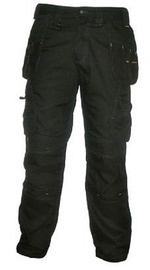 DeWALT DWC25-001 Mens Polycotton Work Pant with Knee Pad Pockets 32 31