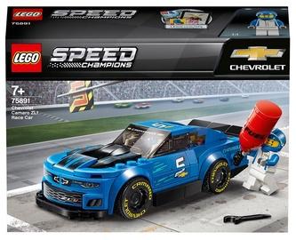 Konstruktor LEGO® Speed Champions Chevrolet Camaro ZL1 võidusõiduauto 75891, 198 tk