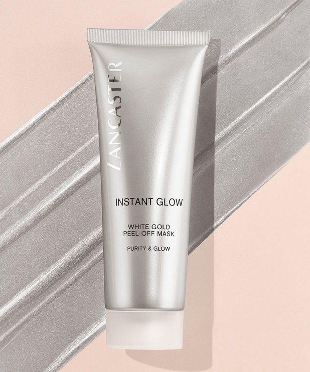 Lancaster Instant Glow Peel-Off Mask 75ml White Gold Purity & Glow