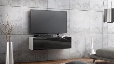 TV galds Pro Meble Arsenal Black/White, 1050x320x300 mm