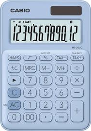 Калькулятор Casio MS-20UC-LB, голубой