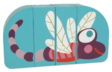 Oops Wooden Magnetic Puzzle Dragonfly 16007.31