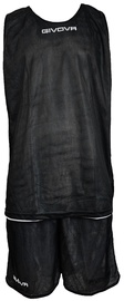 Givova Double Basketball Set Black White XS
