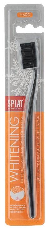Splat Professional Whitening Hard Toothbrush Black