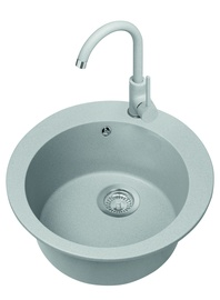 Alveus Victoria Sink 81 With Mixer Tap Gray