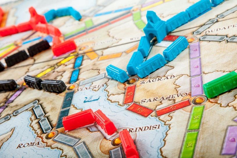 Stalo žaidimas Kadabra, Ticket to Ride Europa
