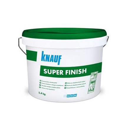 ŠPAKTELE SUPER FINISH 5,4KG KNAUF