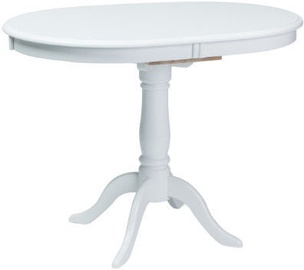 Valgomojo stalas Signal Meble Dello White, 1000x700x750 mm