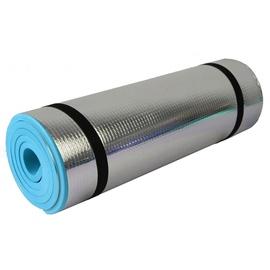 Kempinga paklājs SportVida, zila/pelēka, 1800x500 mm