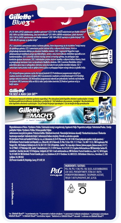 Gillette Blue3 Disposable Razor FC Barcelona