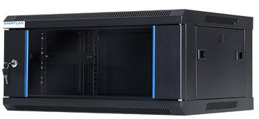 Digitalbox START.LAN Wall Cabinet 19'' 4U/450mm Glass Black