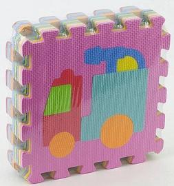 Dėlionė Tommy Toys Eva Puzzle Mat Transports 9pcs 405608