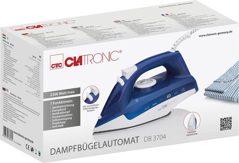Утюг Clatronic DB 3704, синий/белый