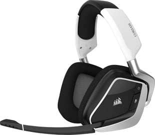 Ausinės Corsair VOID PRO Surround Wireless Gaming Headset White