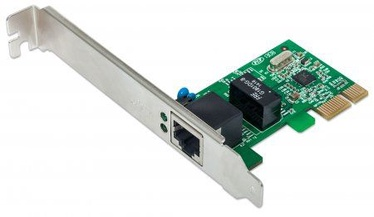 Intellinet Network Card PCI Express 10/100/1000 Gigabit RJ45