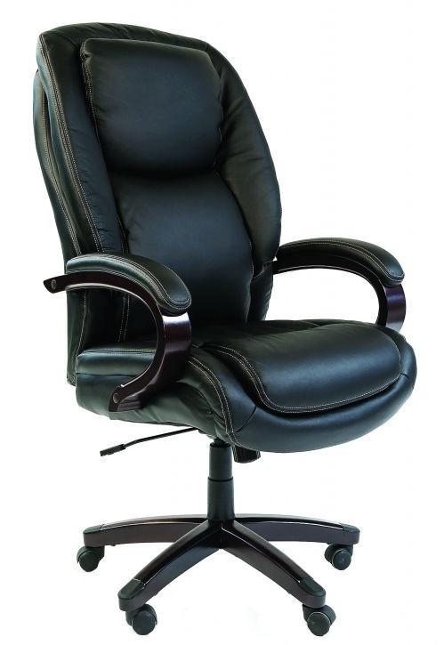 Chairman 408 Leather Black