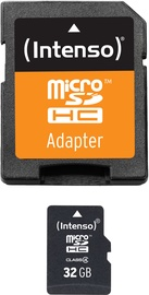 Intenso 32GB MicroSDHC Class 4 + SD Adapter 3403480