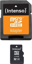 Intenso 32GB MicroSDHC Class 4 + SD Adapter 3403480