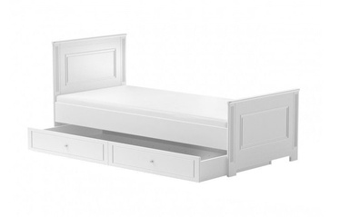 Bellamy Ines Kids Bed With Drawer White