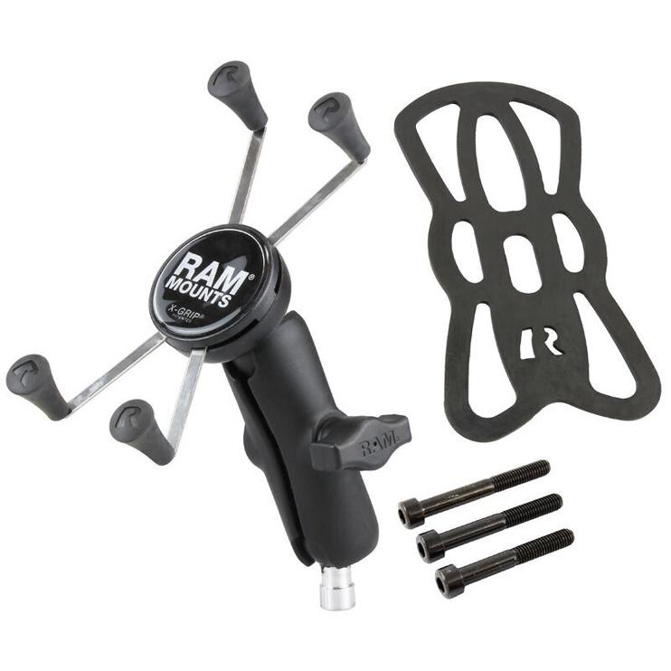 Ram Mounts X-Grip Large Phone Mount With Motorcycle Handlebar