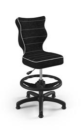 Vaikiška kėdė Entelo Petit VS01, juoda, 370x350x950 mm