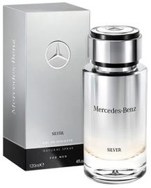 Tualetes ūdens Mercedes-Benz Silver, 120 ml EDT
