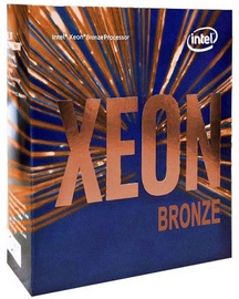 Intel® Xeon® Bronze 3106 1.7GHz 11MB BOX BX806733106SR3GL