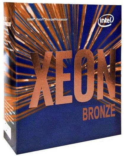 Intel® Xeon® Bronze 3106 1.7GHz 11MB BOX BX806733106SR3GL