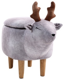 Signal Meble Pouf Deer Lukass Grey
