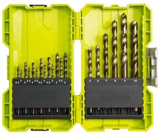 Ryobi HSS Drilling Bit Set 19pcs