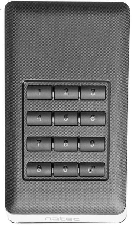 Natec Rhino Enclosure External 2.5'' Encrypted USB 3.0 NKZ-0808
