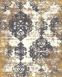 Ковер Mutas Carpet 6488a_l1858, серый, 150x100 см