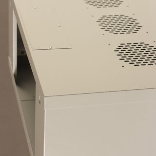Netrack Wall Cabinet 19'' 4.5U/400 mm Glass Grey