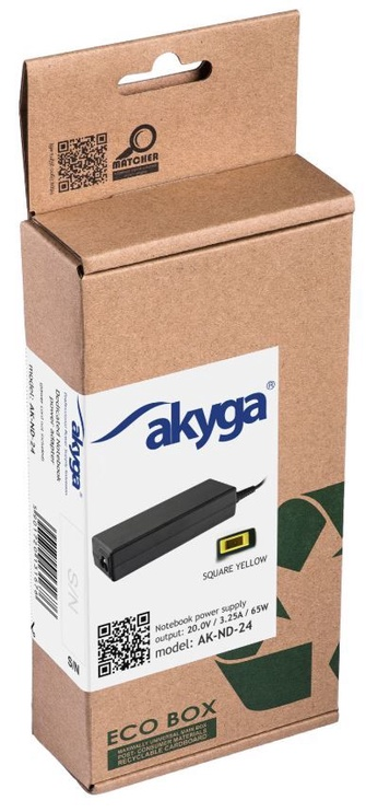 Akyga Laptop Power Adapter 3.25A 65W