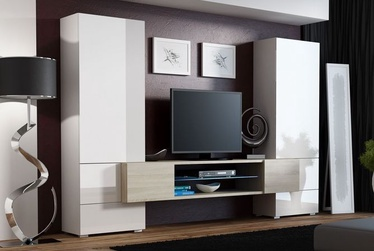 Cama Meble Wall Unit Torii 1 White/Sonoma Oak