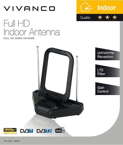 Vivanco Full HD Indoor Antenna TVA3030