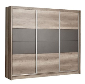 Stolar Santana Wardrobe 250 Grey Oak